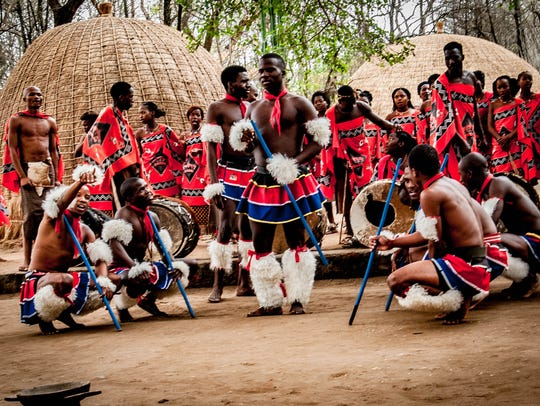 "John Ejaife: ""This was a group of tribal dancers that we were entertained by when we stopped in Swaziland while on a tour of southern Africa."" John Ejaife is an amateur photographer, active in Rochester's community of photographers and meetup groups."