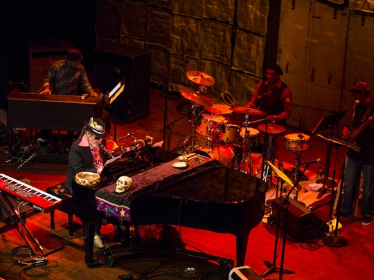 Dr. John performs at the World Cafe Live at the Queen in Wilmington in March 2015.
