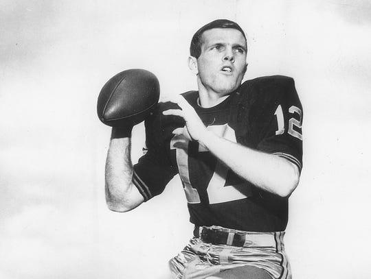Purdue University quarterback Bob Griese, Oct. 1965.