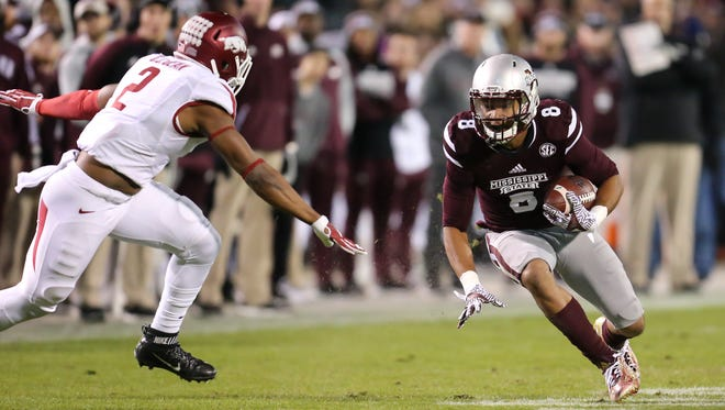 Mississippi State's Fred Ross was a participant at the team's Pro Day on Wednesday, as he prepares for next month's NFL Draft.