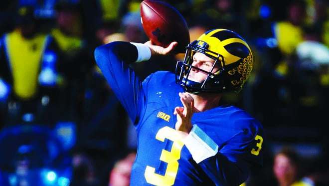 "Michigan quarterback Wilton Speight said, ""This team is filled with unselfish players. ... There's no, 'I'm better than you.' """