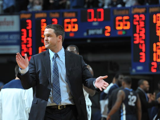Butler coach Brandon Miller guided the Bulldogs through a rough Big East debut, but is away now on a leave of absence.