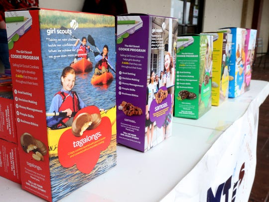 Tagalongs and Samoas are two of the most popular flavors of Girl Scout cookie.