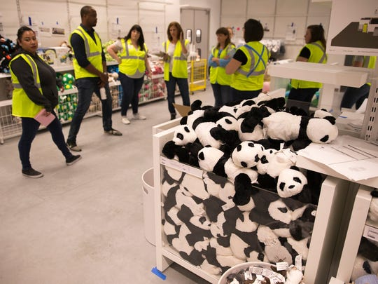 IKEA has been hiring workers ahead of its opening in
