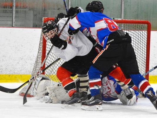 Susquehannock vs Lampeter-Strasburg ice hockey