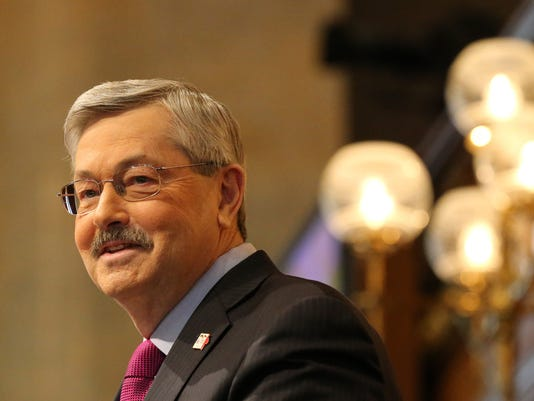Iowa Gov. Terry E. Branstad