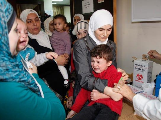 syria polio