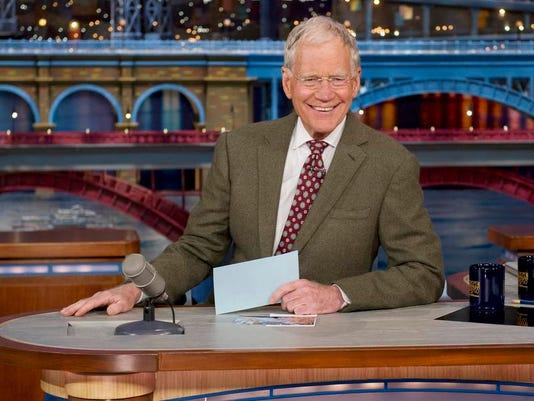 TV-Letterman Retiring (2)