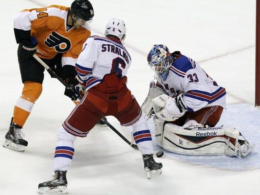 Rangers Flyers Hockey