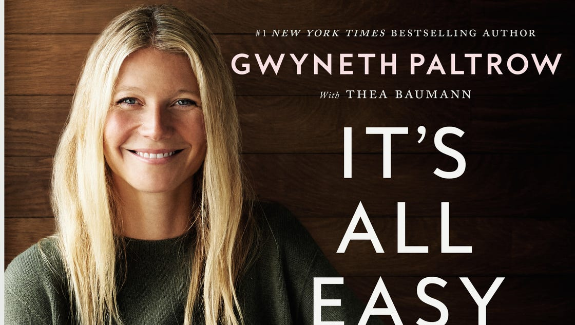How 'Easy' is Gwyneth ... Gwyneth Paltrow Book