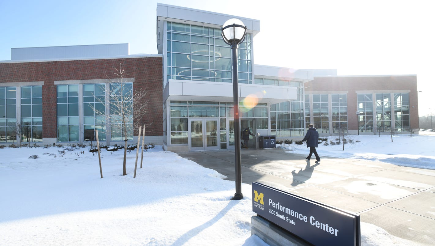 Tour the new University of Michigan south campus Performance Center