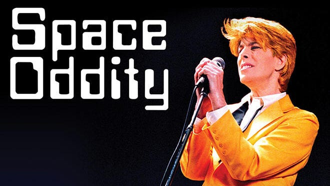 Space Oddity: David Brighton's Tribute to David Bowie will be presented  July 7 at 8 p.m.