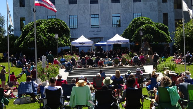 The Oregon State Capitol will hold tours and activities the weekend prior to the eclipse, including a concert featuring The Salem Philharmonia Orchestra performing space-themed tunes 11:30 a.m. Aug. 19.