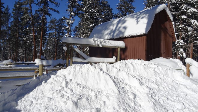 The Lincoln area received some of the heaviest snowfall amounts which have significantly improved snow water amounts in Montana's snowpack.