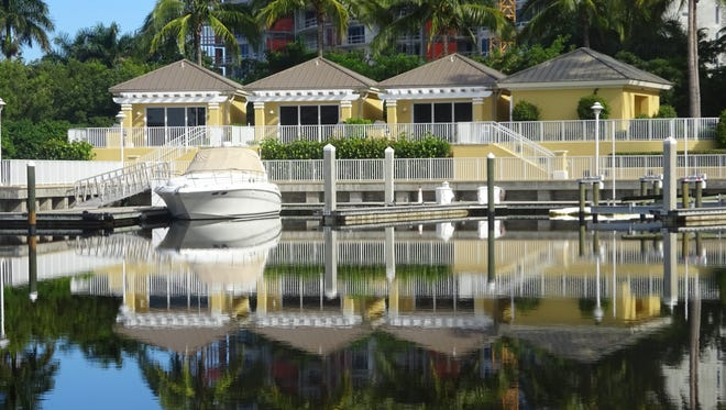 AQUA marina cabanas are an extra indulgence of shade or sunshine, nearby living area with comfortable seating, air conditioning, wet bar with refrigerators and microwaves, and a full bath.
