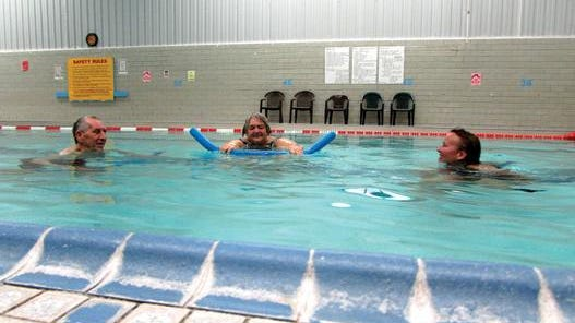 In this 2016 file photo, YWCA Pekin member's enjoy a swim in the facility's pool. The pool will reopen in early July after being closed Mar. 20.