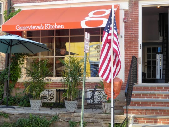 Genevieve's Kitchen is a popular Doylestown eatery.