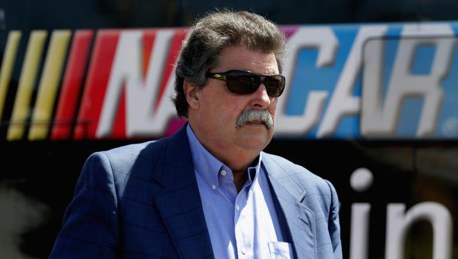 NASCAR president Mike Helton