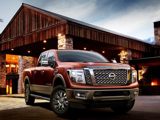 New Nissan Titan Xd Pickup Named Truck Of Texas