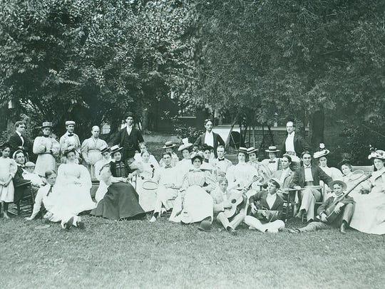 Richmond's social elite heard about golf in July 1896.