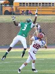 Look familiar? Josh Jackson (3) goes up for a catch