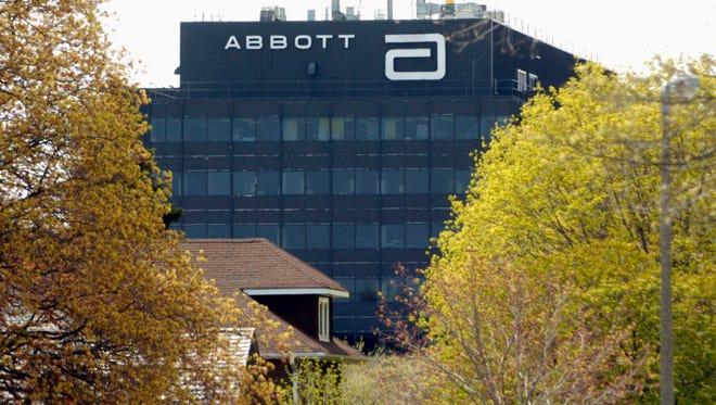 Abbott Laboratories' office building, located in North Chicago, Ill.