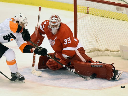 Michael Raffl, Jimmy Howard