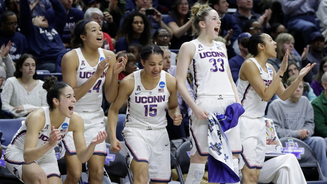 USA TODAY Sports' Lindsay H. Jones previews the women's Final Four in Dallas, where Connecticut is the heavy favorite to win a fifth straight national title.