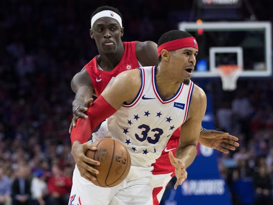 Tobias Harris (33) is likely to command a four-year, $141 million max contract if he does not re-sign with Philadelphia.