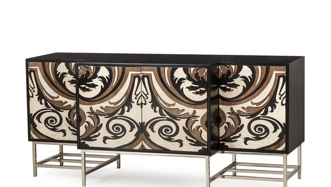 The Damask Credenza, part of the Boyd collection by Resource Decor.
