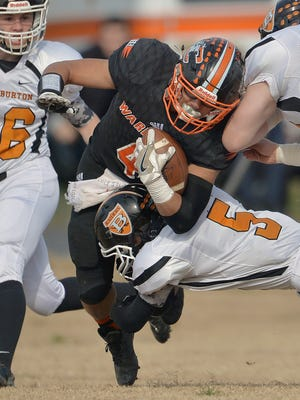 Junior running back Greg Sanchez leads Chilhowie in rushing with over 1,600 yards and in scoring with 219 points.