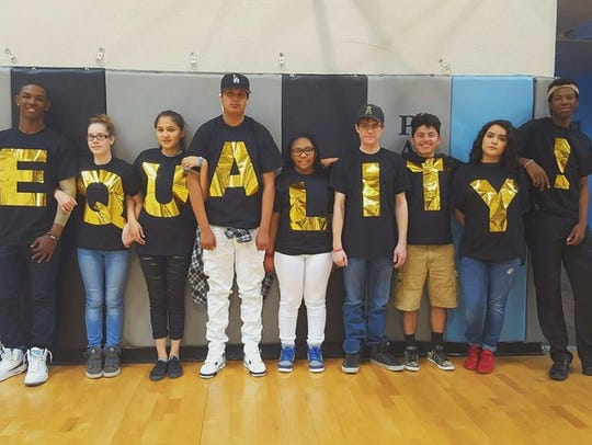 The AZDL students took a stand about the power of equality.