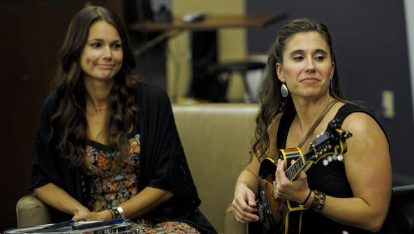 Callie Guidry and Laura Huval speak about the band