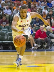 FILE — Bryson Scott, an Indiana All-Stars out of Fort Wayne Northtrop, grew up playing alongside James Blackmon Jr.