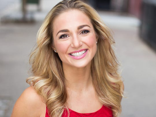 """Broadway performer Jessica Lee Goldyn is among the instructors at Broadway Workshop's """"Camp Vermont"""" at St. Michael's College."""