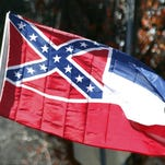 "APA federal judge said Tuesday that the Confederate emblem on the Mississippi flag is ""anti-American"" because it represents those who fought to leave the United States. AP Photo/Rogelio V. SolisAttorneys ordered to file arguments over whether courts have standing to decide if state should remove the flag's battle emblem. In this Tuesday, Jan. 19, 2016 photo, a state flag of Mississippi is unfurled by Sons of Confederate Veterans and other groups on the grounds of the state Capitol in Jackson, Miss., in support of keeping the Confederate battle emblem on the state flag. Mississippi's attorney general said Wednesday, March 2, that he will defend his state's flag against a lawsuit that seeks to remove its Confederate battle emblem, even though he thinks the flag hurts the state and should change. (AP Photo/Rogelio V. Solis)"