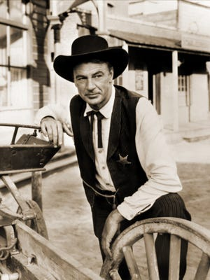 """Gary Cooper from the 1952 western """"High Noon."""""""