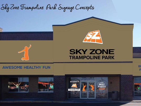 Sky Zone Building Signage Layout Page 1