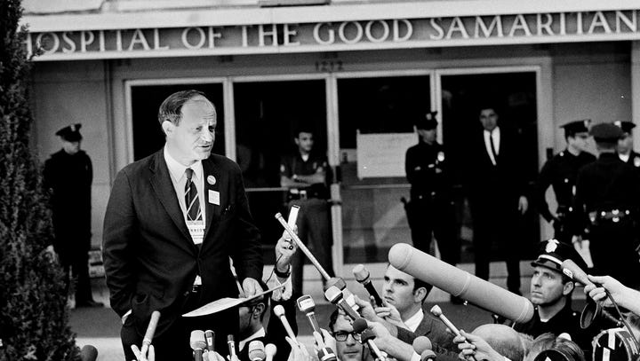 The lost day: How we remember, and don't, the 26 hours after Robert F. Kennedy fell