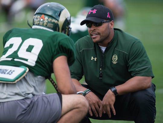 Ryan Davis, CSU's strength and conditioning coach,