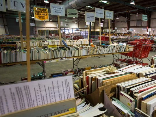 More than half a million books, CDs, magazines and DVDs in 27 categories will be available at the annual VNSA Book Sale.
