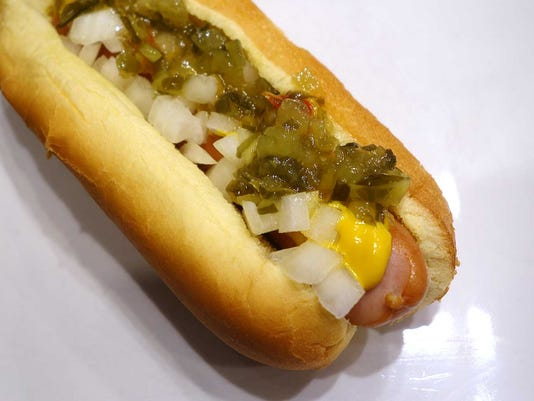 Wimmer's hot dog