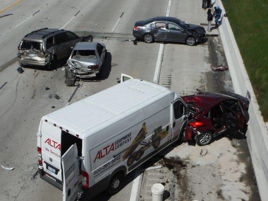 I-96 accident