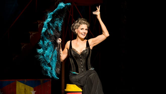 """Lucie Arnaz — the daughter of Lucille Ball and Desi Arnaz — takes the stage as Berthe in the national touring company of """"Pippin."""""""