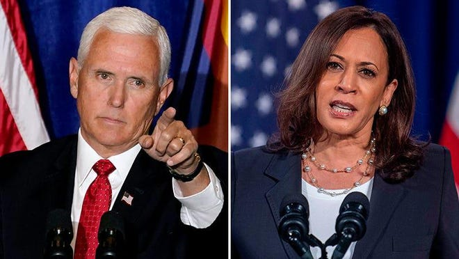 Vice President Mike Pence will face Sen. Kamala Harris, D-Calif., at the vice presidential debate.