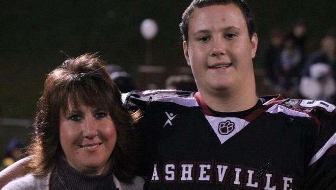 Asheville High senior Bryson Riddle has committed to play college football for UNC Pembroke.