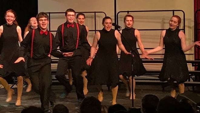 """City Rhythm, the Sturgeon Bay High School show choir, will perform its annual song-and-dance show March 9 at the school auditorium. This year's show is titled """"We Light It Up."""""""