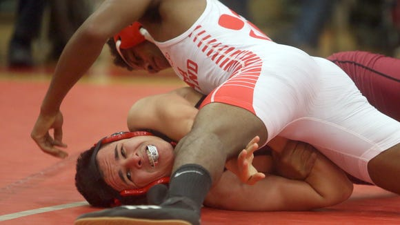Naphe Powell of North Rockland defeated Brian Rivas