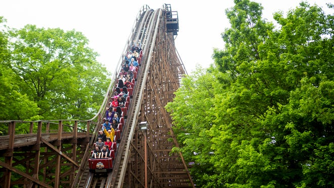 The Beast at Kings Island is the world's longest wooden roller coaster.
