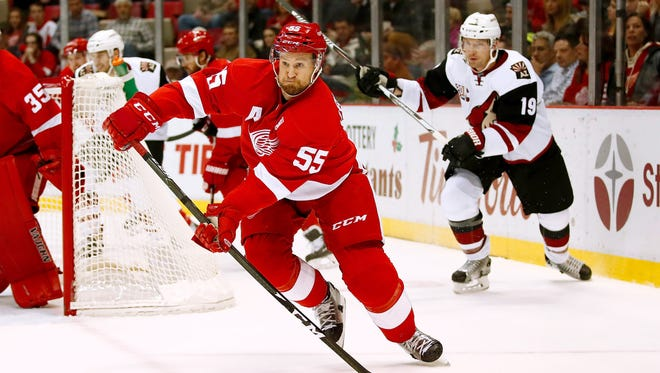 Red Wings defenseman Niklas Kronwall.